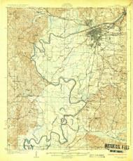 Tuscaloosa, Alabama 1926 (1926) USGS Old Topo Map Reprint 15x15 AL Quad 305717