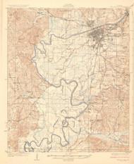 Tuscaloosa, Alabama 1926 (1926) USGS Old Topo Map Reprint 15x15 AL Quad 464536