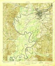 Tuscaloosa, Alabama 1926 (1926) USGS Old Topo Map Reprint 15x15 AL Quad 305716