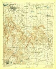 Tuscumbia, Alabama 1926 (1926) USGS Old Topo Map Reprint 15x15 AL Quad 305720