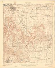 Tuscumbia, Alabama 1926 (1926) USGS Old Topo Map Reprint 15x15 AL Quad 464537