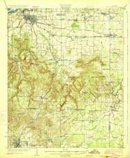 Tuscumbia, Alabama 1926 (1926) USGS Old Topo Map Reprint 15x15 AL Quad 305721