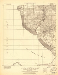 Point Clear, Alabama 1921 (1921) USGS Old Topo Map Reprint 15x15 AL Quad 464496