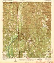 Wilmer, Alabama 1944 (1944) USGS Old Topo Map Reprint 15x15 AL Quad 305739