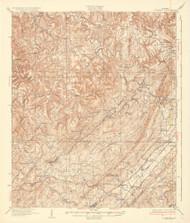 Yolande, Alabama 1935 (1935) USGS Old Topo Map Reprint 15x15 AL Quad 464553