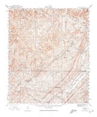 Yolande, Alabama 1932 (1964) USGS Old Topo Map Reprint 15x15 AL Quad 305740