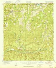 Laurel Hill, Florida 1950 (1950) USGS Old Topo Map Reprint 15x15 AL Quad 347186