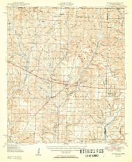 Munson, Florida 1950 (1950) USGS Old Topo Map Reprint 15x15 AL Quad 347569