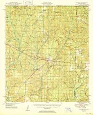 Munson, Florida 1950 (1950) USGS Old Topo Map Reprint 15x15 AL Quad 347570