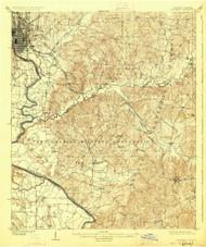 Columbus, Georgia 1908 (1926) USGS Old Topo Map Reprint 15x15 AL Quad 247396