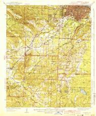 Alexander, Arkansas 1941 (1941) USGS Old Topo Map Reprint 15x15 AR Quad 259969