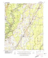 Alicia, Arkansas 1935 (1974) USGS Old Topo Map Reprint 15x15 AR Quad 259971