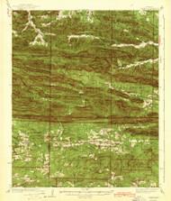 Athens, Arkansas 1942 (1942) USGS Old Topo Map Reprint 15x15 AR Quad 259980