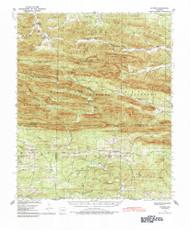 Athens, Arkansas 1936 (1984) USGS Old Topo Map Reprint 15x15 AR Quad 259977