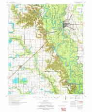 Clarendon, Arkansas 1972 (1972) USGS Old Topo Map Reprint 15x15 AR Quad 260013