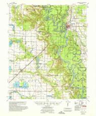 Clarendon, Arkansas 1957 (1957) USGS Old Topo Map Reprint 15x15 AR Quad 260012
