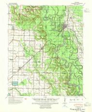 Clarendon, Arkansas 1941 (1951) USGS Old Topo Map Reprint 15x15 AR Quad 260010