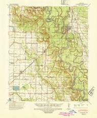 Clarendon, Arkansas 1941 (1946) USGS Old Topo Map Reprint 15x15 AR Quad 260011