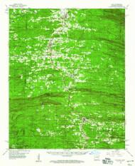 Cove, Arkansas 1959 (1960) USGS Old Topo Map Reprint 15x15 AR Quad 260020