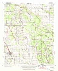 England, Arkansas 1937 (1970) USGS Old Topo Map Reprint 15x15 AR Quad 260051