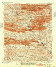 Glenwood, Arkansas 1942 (1949) USGS Old Topo Map Reprint 15x15 AR Quad 260073