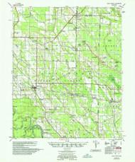 Holly Grove, Arkansas 1957 (1957) USGS Old Topo Map Reprint 15x15 AR Quad 260097