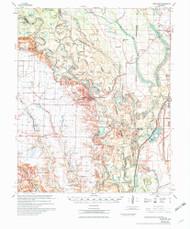 Indian Bay, Arkansas 1970 (1970) USGS Old Topo Map Reprint 15x15 AR Quad 260115