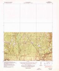 Ingalls, Arkansas 1939 (1941) USGS Old Topo Map Reprint 15x15 AR Quad 260119
