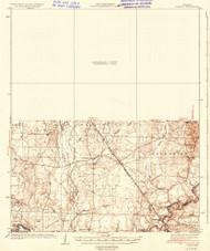 Ingalls, Arkansas 1937 (1937) USGS Old Topo Map Reprint 15x15 AR Quad 260118