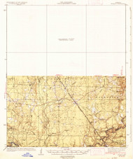 Ingalls, Arkansas 1937 (1937) USGS Old Topo Map Reprint 15x15 AR Quad 260117