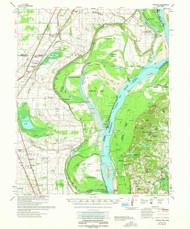 Jericho, Arkansas 1962 (1962) USGS Old Topo Map Reprint 15x15 AR Quad 260124
