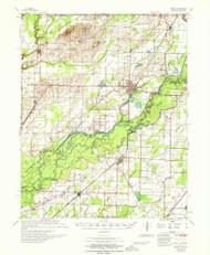 Knobel, Arkansas 1967 (1967) USGS Old Topo Map Reprint 15x15 AR Quad 260132