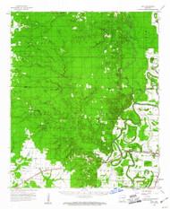 Mist, Arkansas 1960 (1961) USGS Old Topo Map Reprint 15x15 AR Quad 260199