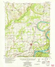 Modoc, Arkansas 1964 (1964) USGS Old Topo Map Reprint 15x15 AR Quad 260203