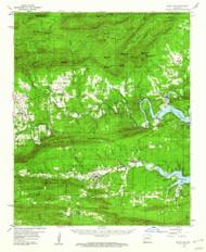 Mount Ida, Arkansas 1959 (1960) USGS Old Topo Map Reprint 15x15 AR Quad 260210