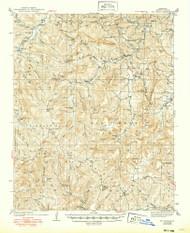 Mt Judea, Arkansas 1940 (1949) USGS Old Topo Map Reprint 15x15 AR Quad 260216