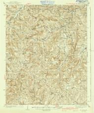 Mt Judea, Arkansas 1940 (1940) USGS Old Topo Map Reprint 15x15 AR Quad 260215