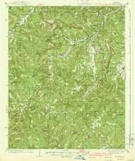 Mt Judea, Arkansas 1940 (1940) USGS Old Topo Map Reprint 15x15 AR Quad 260214
