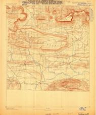 Dardanelle #3, Arkansas 1888 (1888) USGS Old Topo Map Reprint 15x15 AR Quad 260023