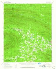Potter, Arkansas 1958 (1959) USGS Old Topo Map Reprint 15x15 AR Quad 260256