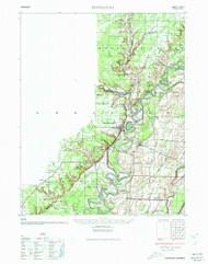Powhatan, Arkansas 1935 (1935) USGS Old Topo Map Reprint 15x15 AR Quad 260258