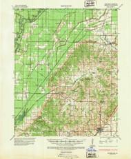 Rector, Arkansas 1935 (1947) USGS Old Topo Map Reprint 15x15 AR Quad 260269