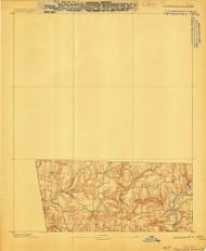 Winslow #3, Arkansas 1898 (1898) USGS Old Topo Map Reprint 15x15 AR Quad 260381
