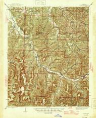 St. Paul, Arkansas 1946 (1946) USGS Old Topo Map Reprint 15x15 AR Quad 260305