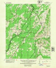 Sedgwick, Arkansas 1935 (1954) USGS Old Topo Map Reprint 15x15 AR Quad 260285