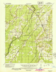 Sedgwick, Arkansas 1935 (1936) USGS Old Topo Map Reprint 15x15 AR Quad 260286