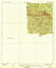 Strong, Arkansas 1937 (1937) USGS Old Topo Map Reprint 15x15 AR Quad 260312