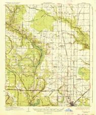 Stuttgart, Arkansas 1937 (1937) USGS Old Topo Map Reprint 15x15 AR Quad 260316