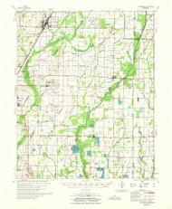 Tuckerman, Arkansas 1967 (1967) USGS Old Topo Map Reprint 15x15 AR Quad 260335