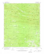 Umpire, Arkansas 1959 (1978) USGS Old Topo Map Reprint 15x15 AR Quad 260336